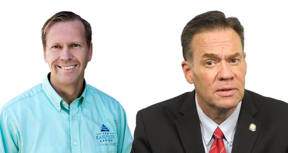 PODCAST: Sen. Russ Fulcher and Dr. Michael Karlfeldt